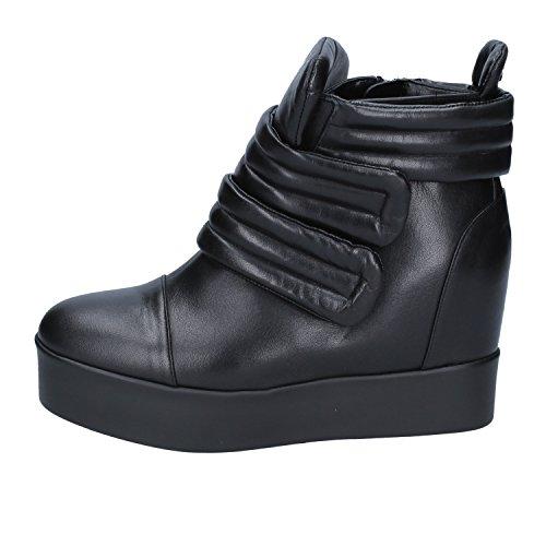 Black Fashion 37 Albano EU Sneakers Leather Womens CBCqH