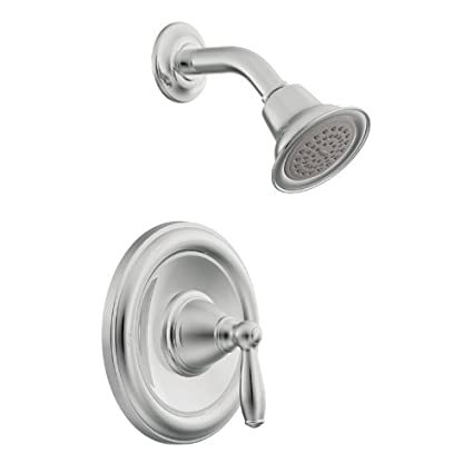 Amazon.com: Moen T2152 Brantford Posi-Temp Shower Trim Kit without ...