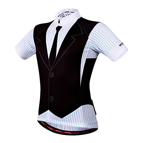 WOSAWE Breathable Cycling Jersey Padded product image