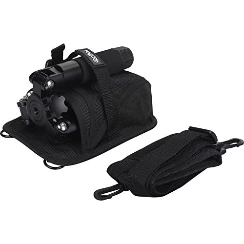 Rollei Compact Traveler Mini M-1 - Compact Mini-tripod, very light and ideal for travel, incl. Ball Head and Quick Release Plate - Black