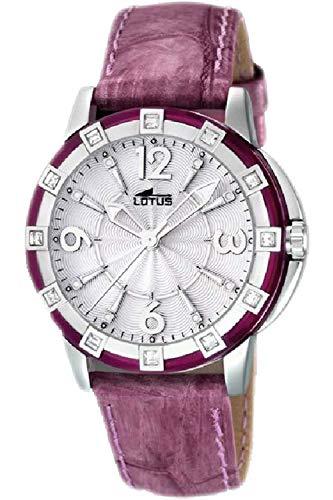 Lotus Glee Womens Analog Quartz Watch with Leather Bracelet 15745/3
