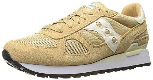Saucony Originals Mens Shadow Original Sneaker, Light Tan, 36 D(M) EU/3 D(M) UK