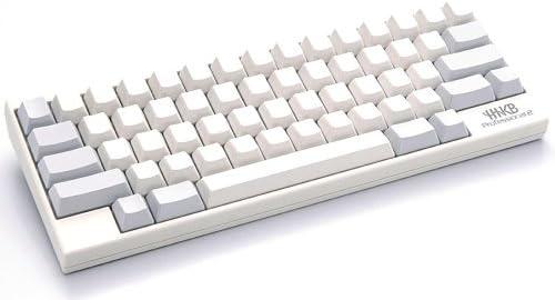 PFU Happy Hacking Keyboard Professional2 白/無刻印 英語配列 USBキーボード 静電容量無接点 UNIX配列 WINDOWS/MAC両対応 ホワイト PD-KB400WN