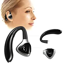Creazy® Wireless Stereo In Ear Earhook Bluetooth V4.1 Headset Earphone +1 Battery