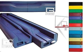 Gared Pro-Mold Backboard Padding Gray