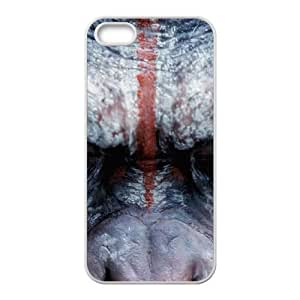 Dawn Of The Planet Of The Apes iPhone 5 5s Cell Phone Case White Y9689873