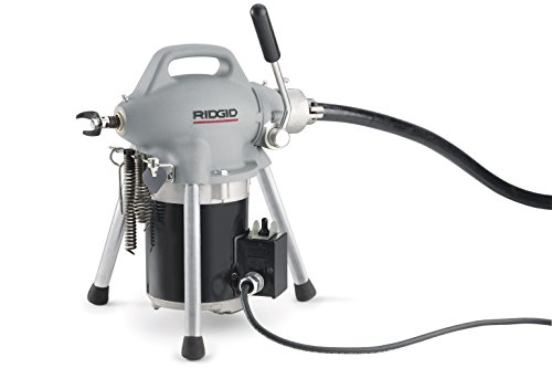 RIDGID 58920 K-50 Sectional Machine, Sectional Drain Cleaning Machine (Sectional Cable Sold Separately – Machine Only No Accessories) by Ridgid (Image #1)