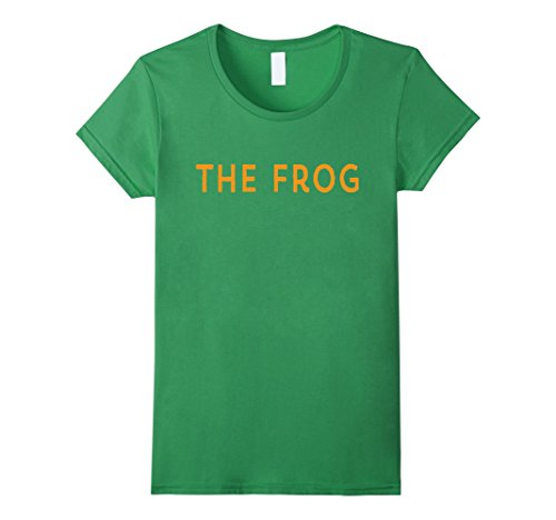 Womens Princess Funny Matching Halloween Costume and Her FROG Shirt XL Grass - Princess And Frog Halloween Costume