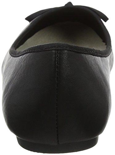 Robyn 01 Black Ballerine Donna Punta Nero Chiusa Evans 8Oqw8f