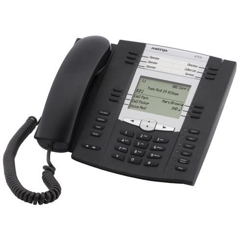(Aastra 55i (6755i) Telephone Text (Certified Refurbished) )