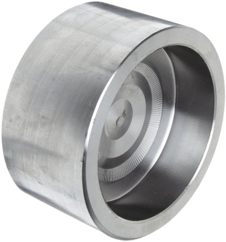316/316L Forged Stainless Steel Pipe Fitting, Cap, Socket Weld, Class 3000, 1