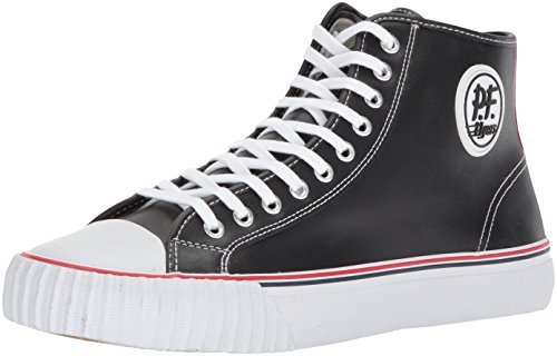 PF Flyers Men's ML2001BK, Black, 10.5 D US (Pf Flyers Classic Shoes)