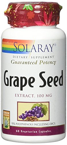 Solaray Grape Seed Extract 100 mg VCapsules, 60 Count For Sale