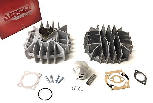 74ccm 47mm AIRSAL Tuning Sport Racing Zylinder Kit f/ür Maxi Mofa Moped Mokick