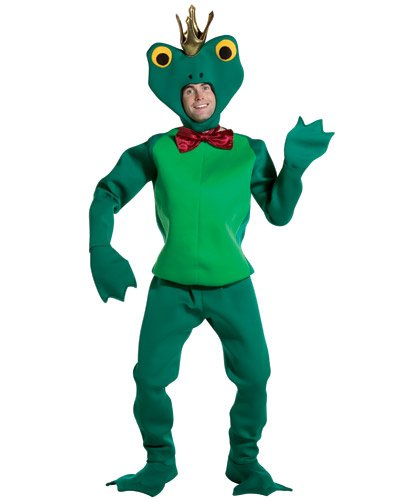 [Rasta Imposta Frog Prince Adult Costume X-Large Green] (Prince Frog Costumes)