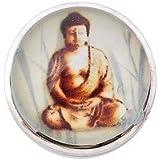Andante bouton pression CHUNK (Bouddha) pour bracelets Chunk, bagues Chunk et autres accessoires Chunk