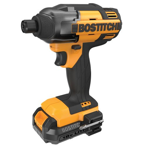 BOSTITCH BTC440LB 18V Lithium 1 4-Inch Hex Chuck Impact Driver Kit