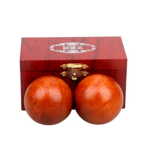 health exercise stress balls/ healthy exercise massage baoding balls (huali wood)