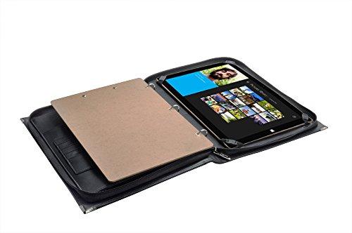 Premium Organizer Binder Padfolio Case with Strap and Han...