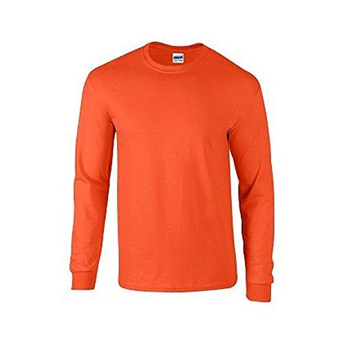 L Shirt Soft Gildan Orange Style Homme T sleeve qFEZ6BwZ