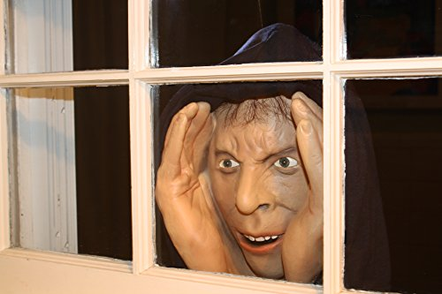 Scary Peeper Halloween Decoration – Peeping Tom Look Alike –