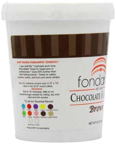 Fondarific Chocolate Fondant Brown, 2-Pounds by Fondarific (Image #8)'
