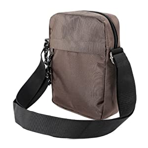 The Pecan Man Brown Messenger Bag Satchel School Bag Travel Travel Organiser Utility Briefcase Bag Shoulder Bag