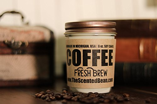 Coffee Soy Candle - Fresh - Bean Coffee Candle