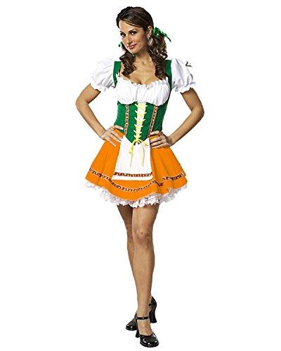 Swiss Miss Costume - X-Small - Dress Size 2-4 ()