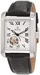 Bulova Men's 96A127 BVA-Series 160 Leather Strap Watch