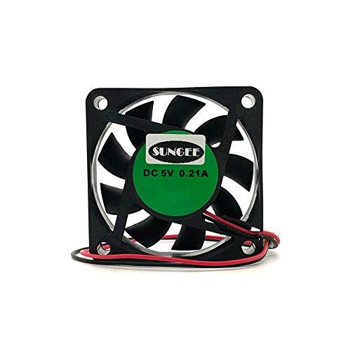 Heatsink fan For DaHua DVR Fan 5V 0.21A 6015 60mm 2Wire Cooler Fan hard disk fan (5V 0.21A (6CM)) ()