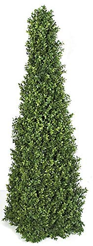 52 Inch UV Rated Boxwood Pyramid Topiary Autograph Foliages