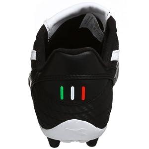 Diadora Little Kid/Big Kid Veneto MD Jr Soccer Cleat,Black/White,11.5 M Little Kid