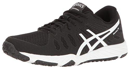 11 M Cross Trainer Black Nitrofuze White ASICS Shoe US TR Gel White Women's wBxvpnCqP1