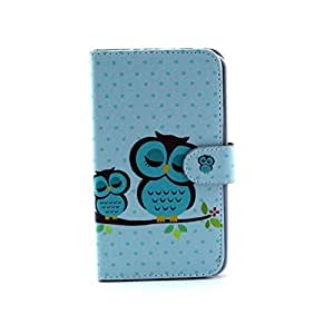 Sandao Fashion Vintage Stand Flip Wallet Leather Hybrid Case Cover for Samsung Galaxy Note 3 N9000 and Long Sky Blue Touch Screen Stylus Pen(#001)