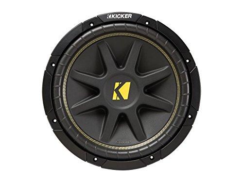Kicker C12 12-Inch 400W Dual 4-Ohm Comp Series Subwoofer - Kicker 400w System