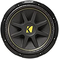 Kicker C12 12-Inch 400W Dual 4-Ohm Comp Series Subwoofer