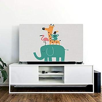 VU ANH TUAN Store - Funda para TV, diseño de Dibujos Animados, 81,28 cm, Verde: Amazon.es: Deportes y aire libre