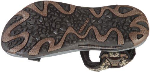 Northland Black Mehrfarbig Damen Sandalen ACTIVE Professional Durchgängies Torf Ls Plateau 8Cr8wq