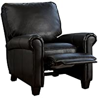 Denise Austin Home Kent PU Leather Recliner Club Chair