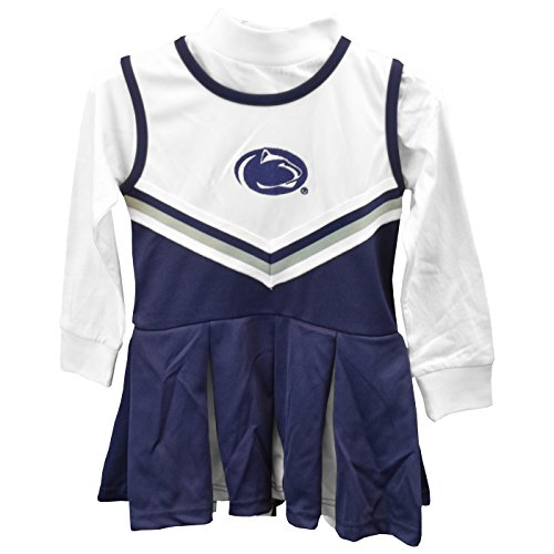 Penn State Nittany Lions Girls One Piece Cheer Dress - Size 2