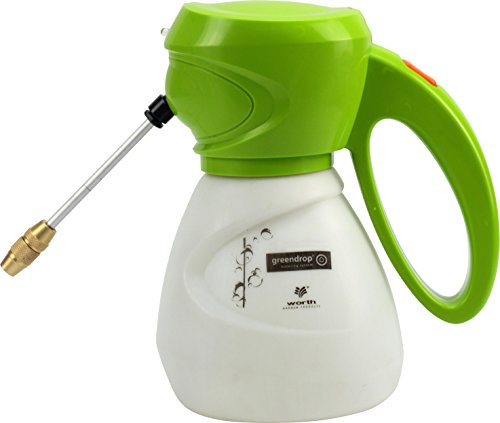 Worth Garden Multi-Purpose Lithium Hand Sprayer 1-Liter UP TO 7.92 GALLONS Per Battery Charge