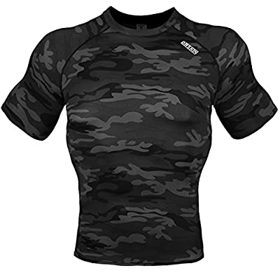 DRSKIN Compression Cool Dry Sports Tights Shirt Baselayer Running Leggings Yoga Rashguard Men