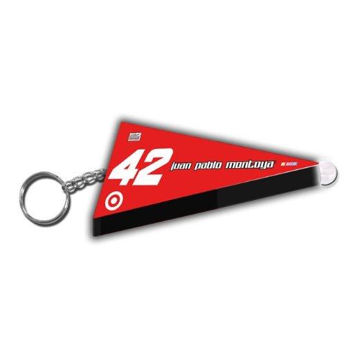 Montoya Target - Juan Pablo Montoya #42 Target Nascar Pennant Key Chain