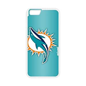 iPhone6 Plus 5.5 inch Phone Case White Miami Dolphins JIL686493