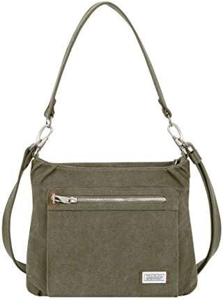 Travelon Anti-Theft Heritage Hobo Bag, Sage, One Size