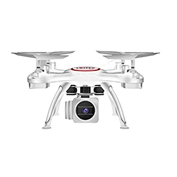 0.3 MP Quadcopter,X5UW 4CH 6-Axis FPV RC Quadcopter Wifi Camera Real Time Video 2 Control Modes By Dacawin 1