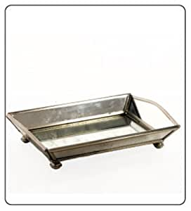 Bathroom accessories sets vanity tray mirrored for perfume tray home kitchen - Bathroom accessories vanity tray ...