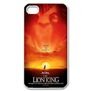 The Lion King Hakuna Matata Hard Snap Phone Case Cover for Iphone 4,4S case TSL218111