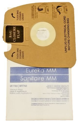 Ultra Fresh 120 Pack Eureka MM Micro-lined Mighty Mite & Sanitaire Allergen Filtration Vacuum Cleaner Bags by Electrolux Home Care Products Inc.